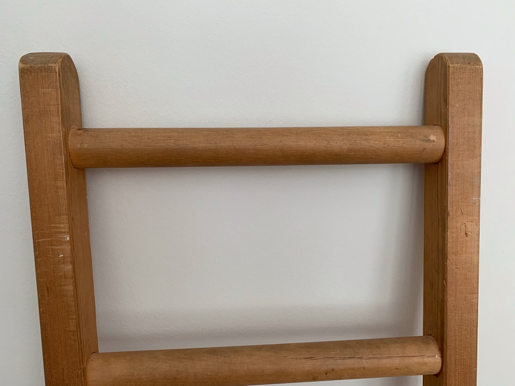 Lovely, solid pine ladder - good for a bunk bed or as decoration for hanging clothing, etc