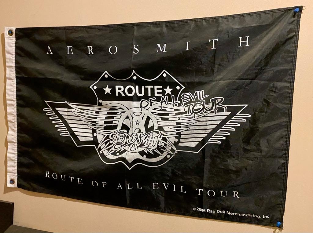 Vintage Aerosmith memorabilia