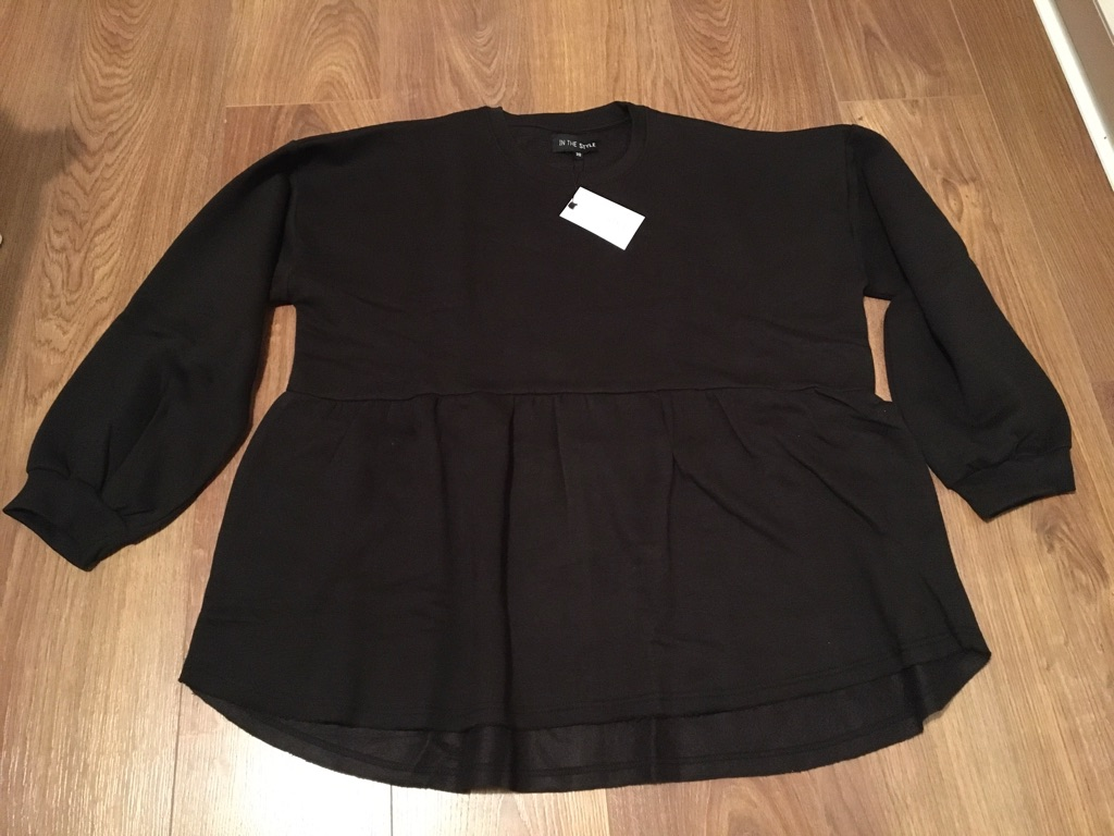 Maternity black sweater