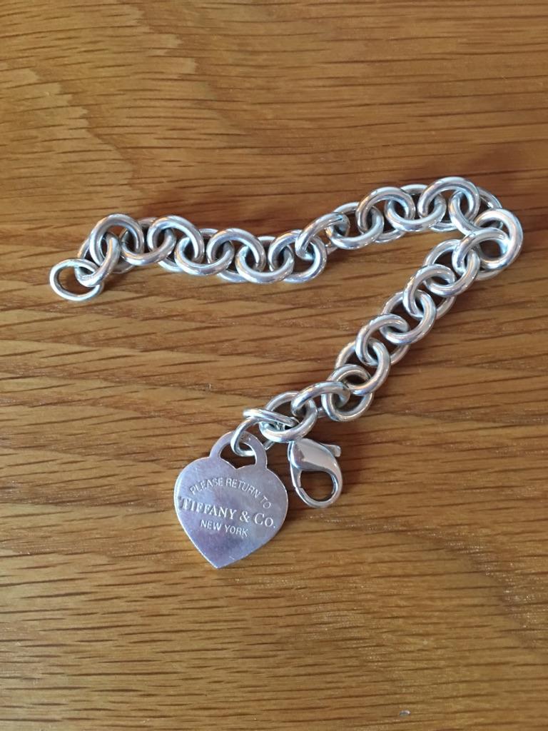 Return to Tiffany New York charm bracelet