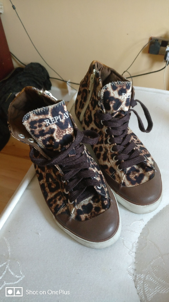 Replay shoes 6 uk size