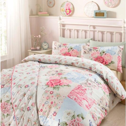 Oriental Pink duvet set - king size