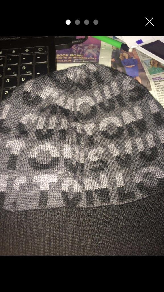 Louis Vuitton split hat