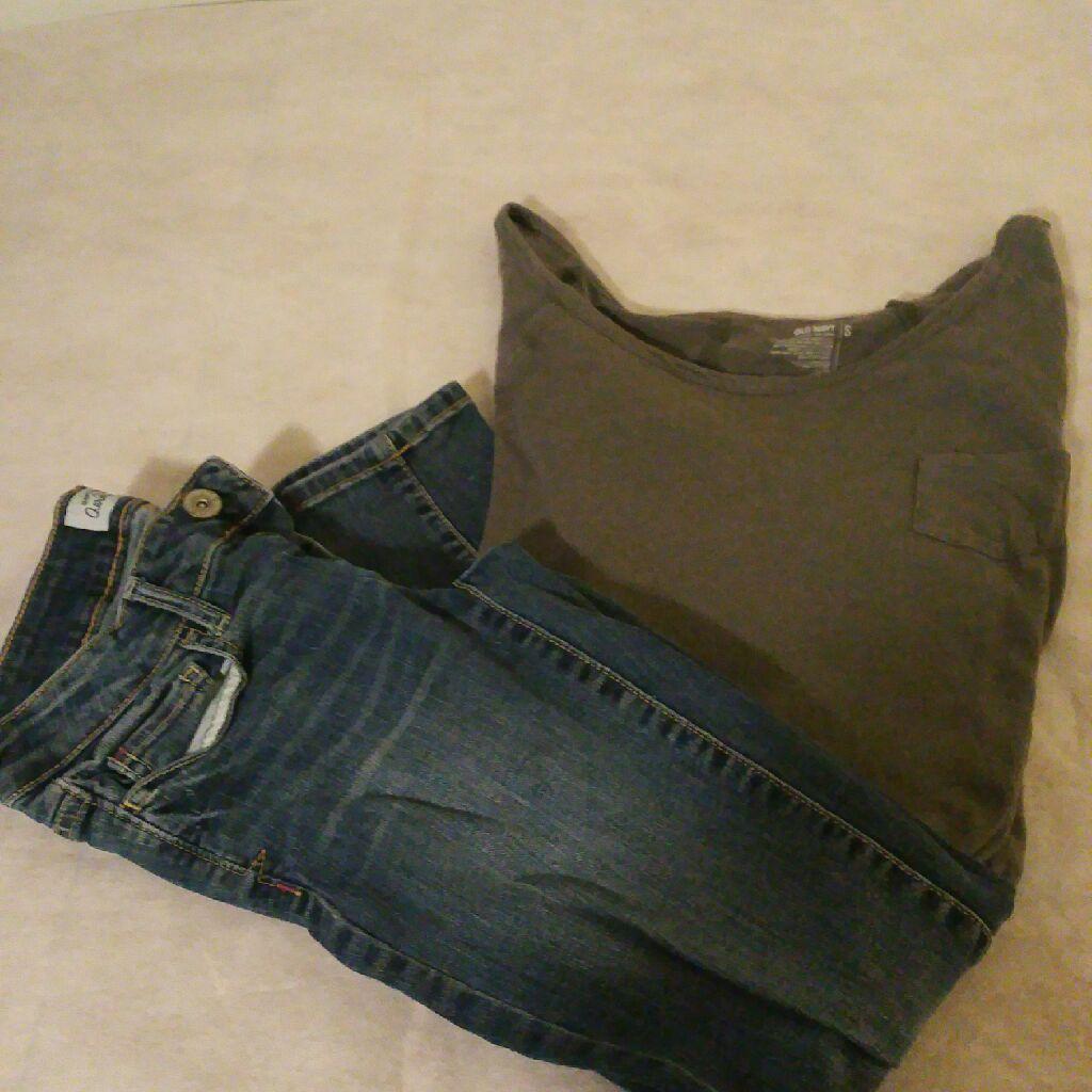 Old Navy Shirt with Aeropostal pants