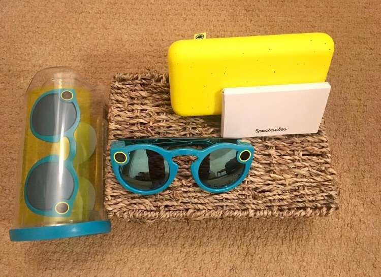 Turquoise Snap Chat Spectacles