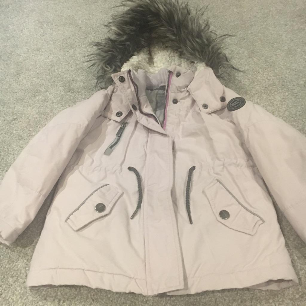 Age 6 next pink winter jacket