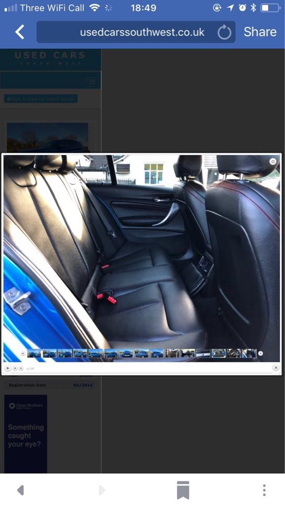 2014 bmw one series 2lr m sport diesel