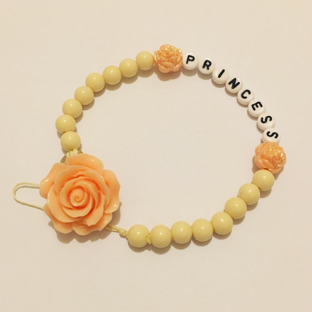 Peachy Rose Dummy chain