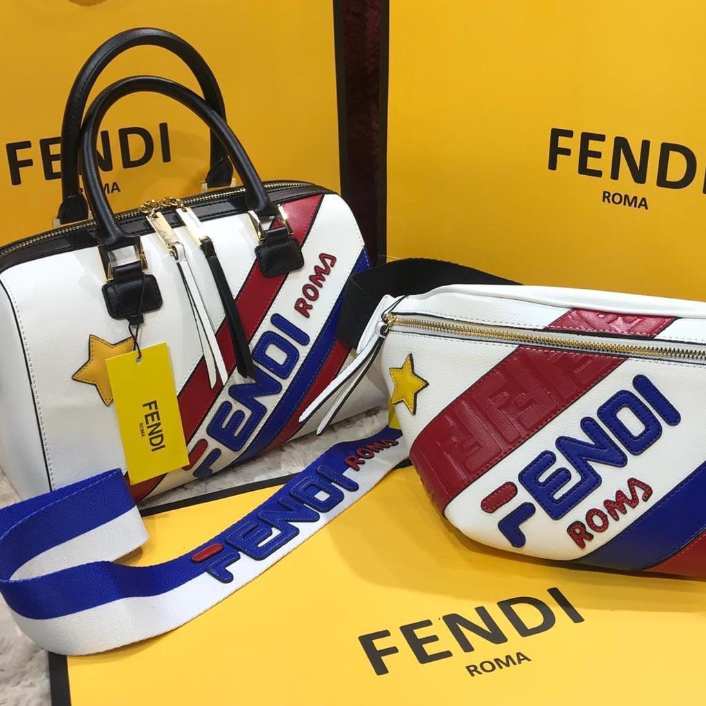 Fendi Bag set handbag and Bumbag