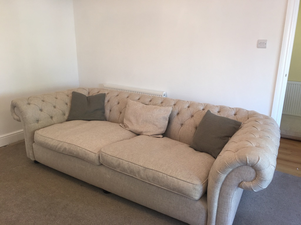 Chesterfield Sofa & Snuggle Chair