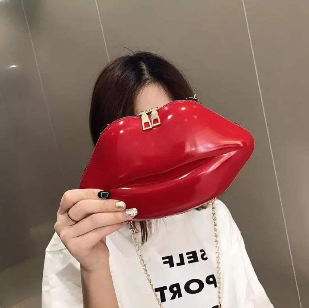 Unique Red Bag