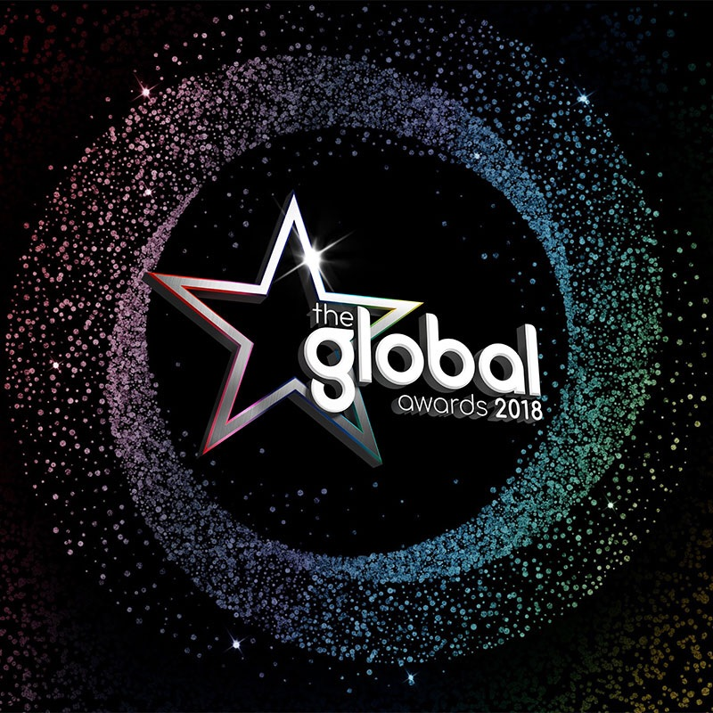 2x row C tickets to the Global Awards 1st Mar