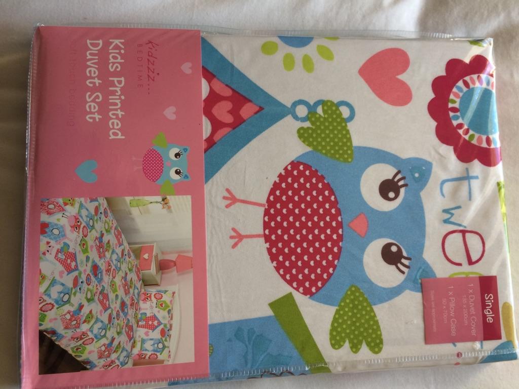 Children's single duvet set