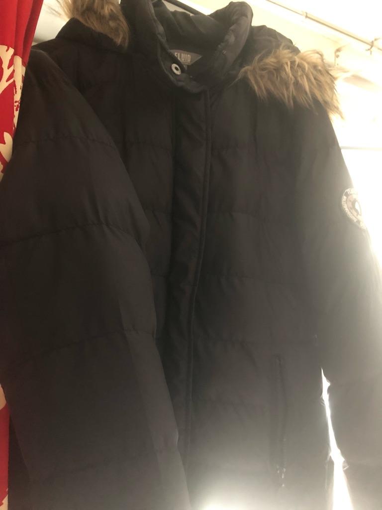 Fluid puffa jacket