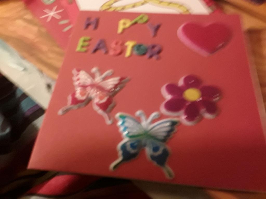 Handmade cards and artist box