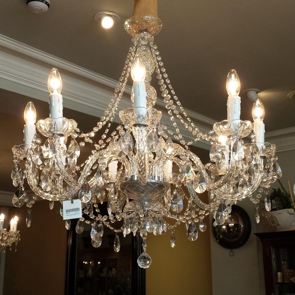 9 lights chandelier