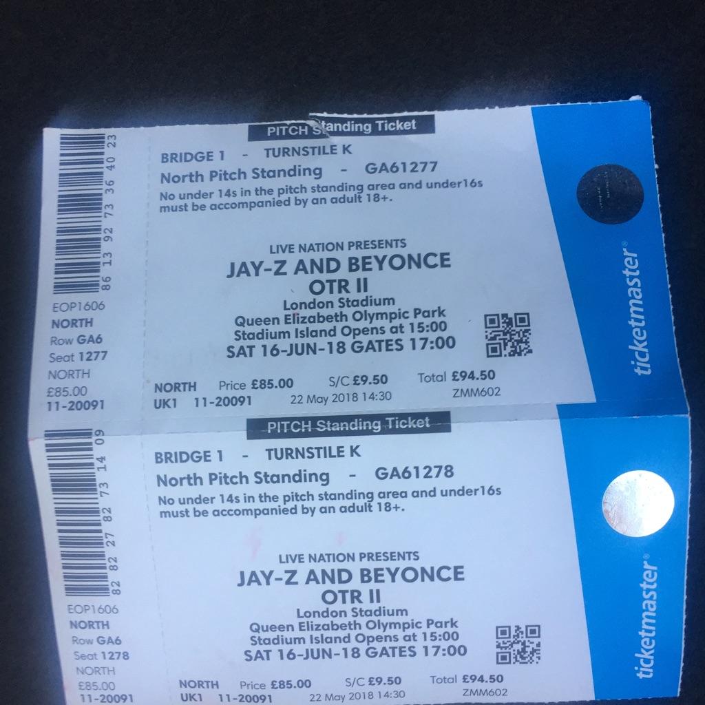 Beyoncé &jayz tickets
