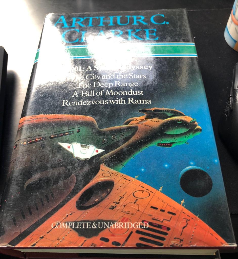 ARTHUR C CLARKE BOOK