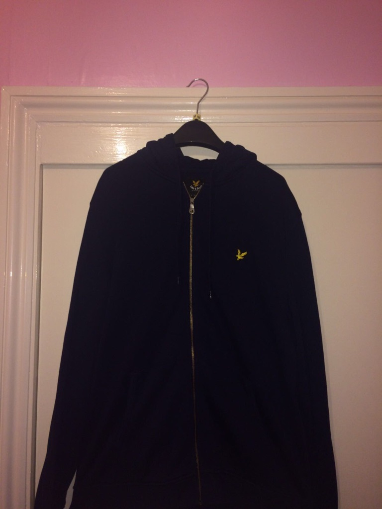 Lyle&Scott mens designer hooded jumper XXL