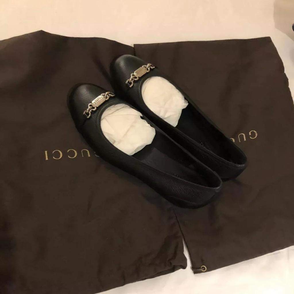Gucci flats size EU35.5