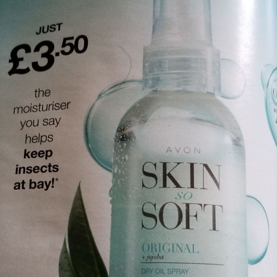 Skin so soft original moisturiser spray