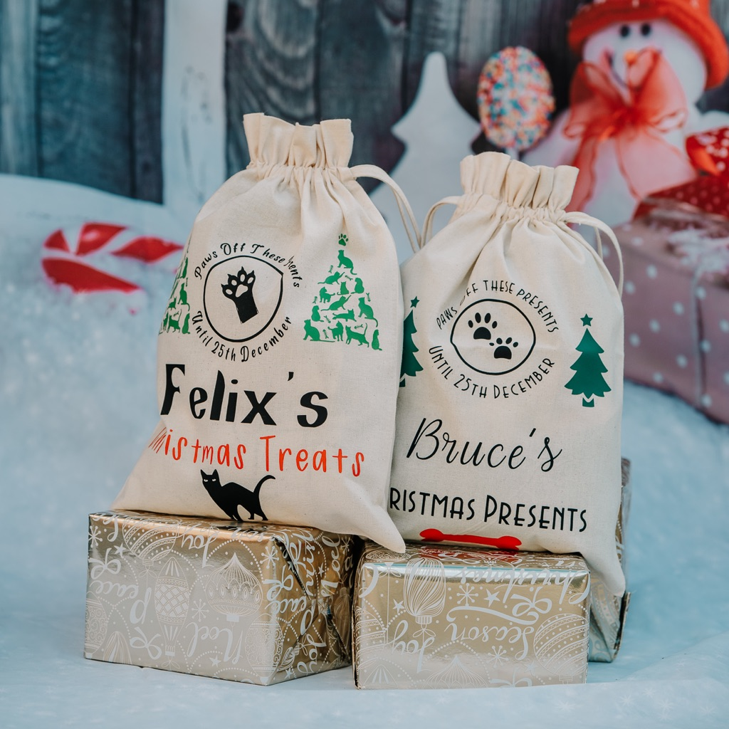 Santa Paws Personalised Cats & Dogs