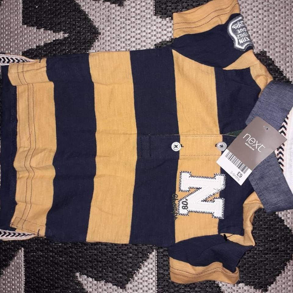 Boys next top age 3-6 months new with tags