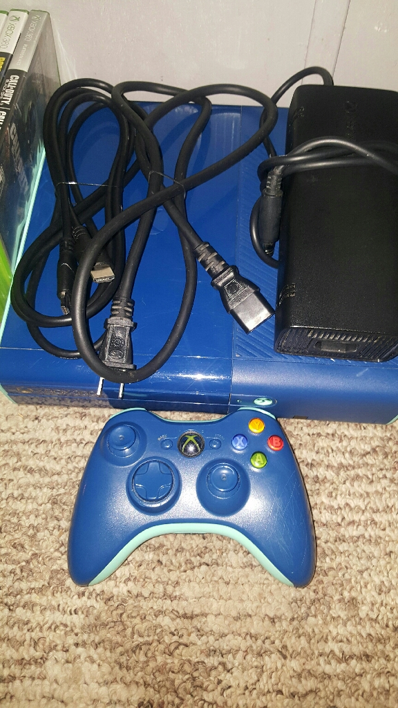 Special Edition Blue Xbox 360