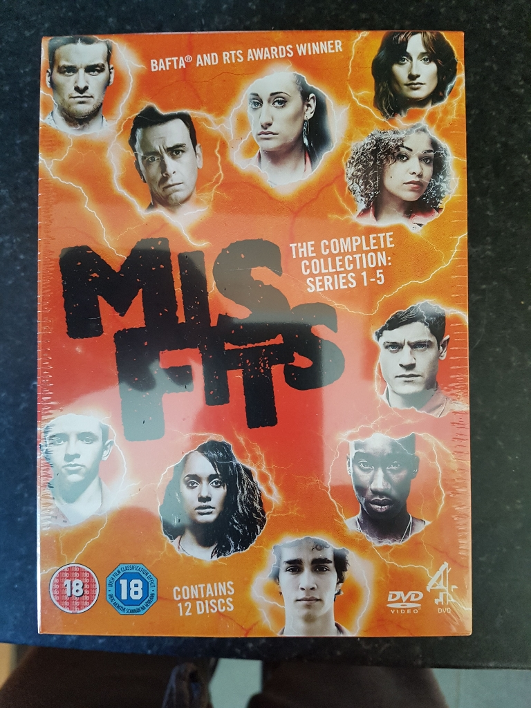 Complete box set Misfits