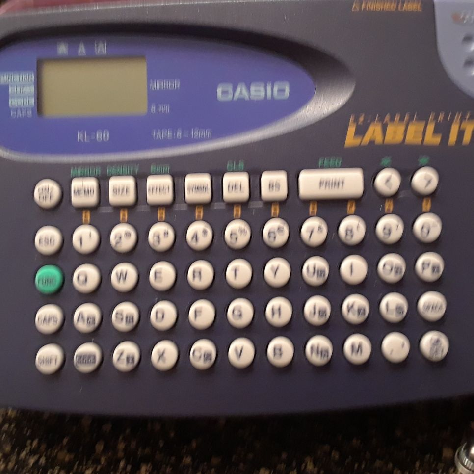 Casio Label It