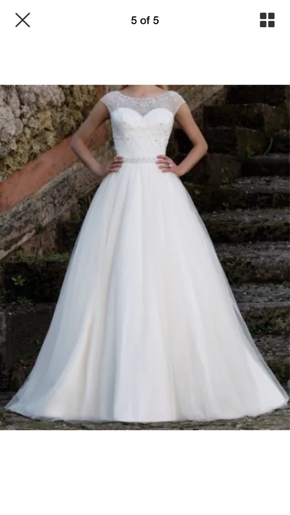 Brand new sincerity wedding dress
