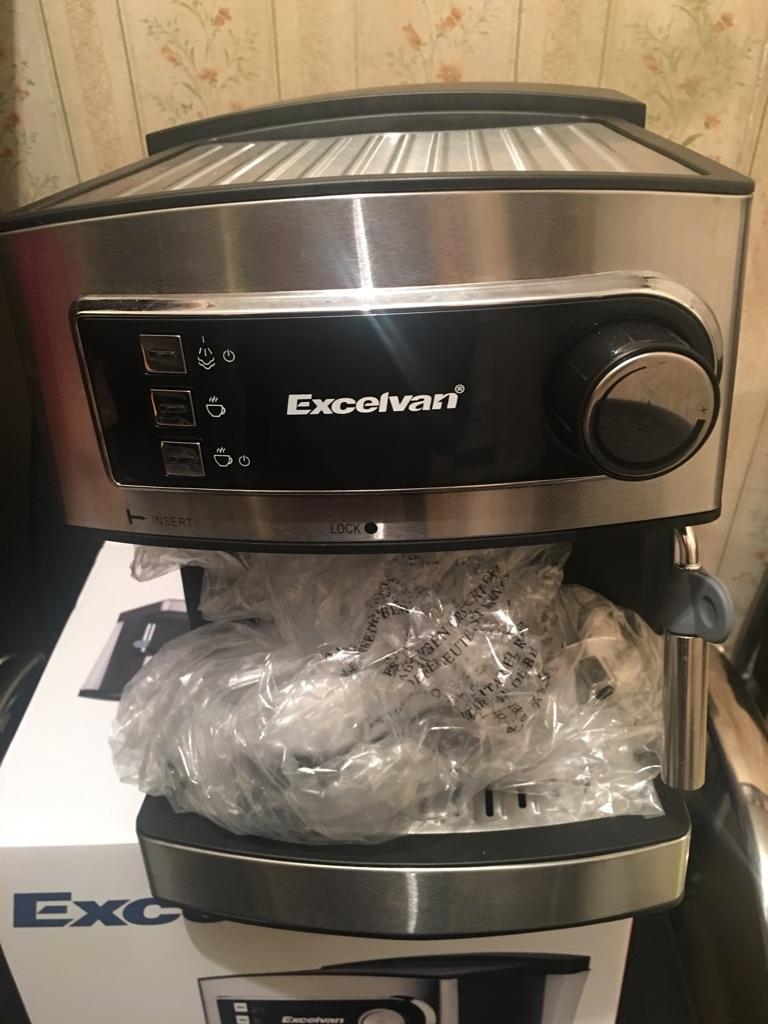 Excelvan Espresso Maker