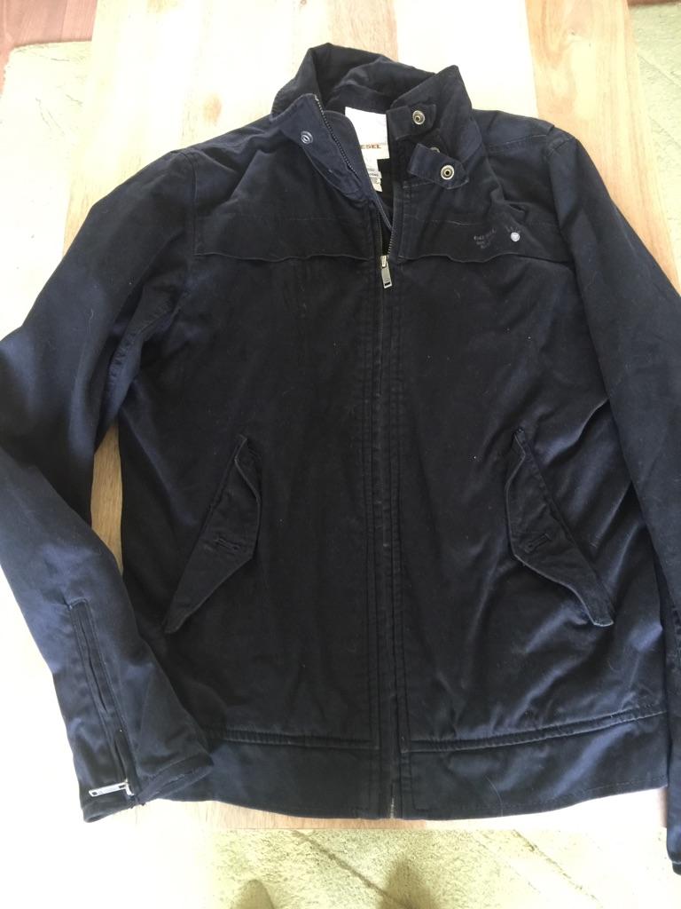 Men's small genuine Diesel jacket