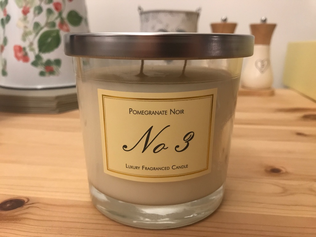 NEW Pomegranate Noir, No3 Luxury Candle