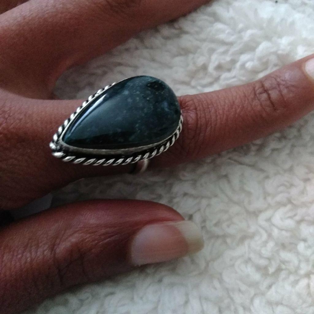 Navajo Lapis Ring size 9