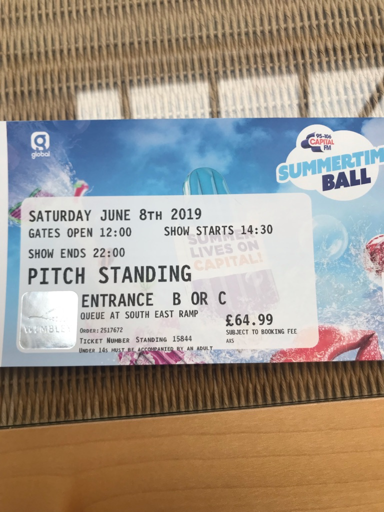 Summertime Ball tickets for sale