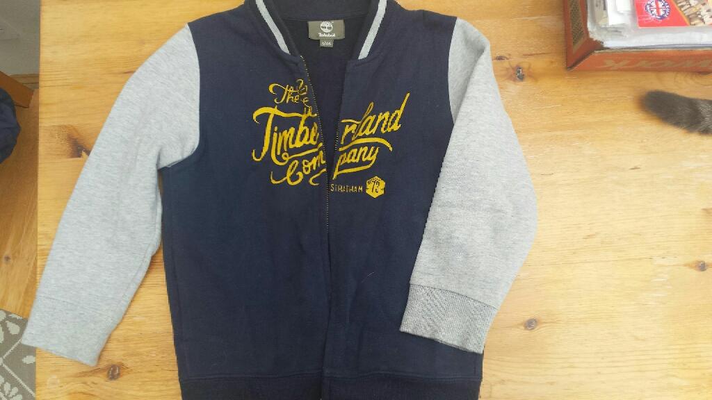 Timberland, dark blue/grey sweatshirt 5 Years -108cm