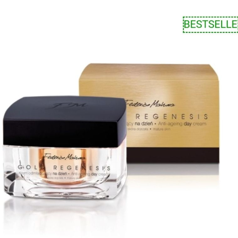 Gold regenese anti ageing face cream