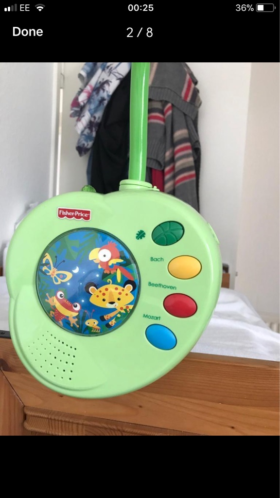 Baby music mobile