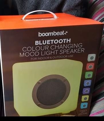 LED Bluetooth Mood Cube Speaker