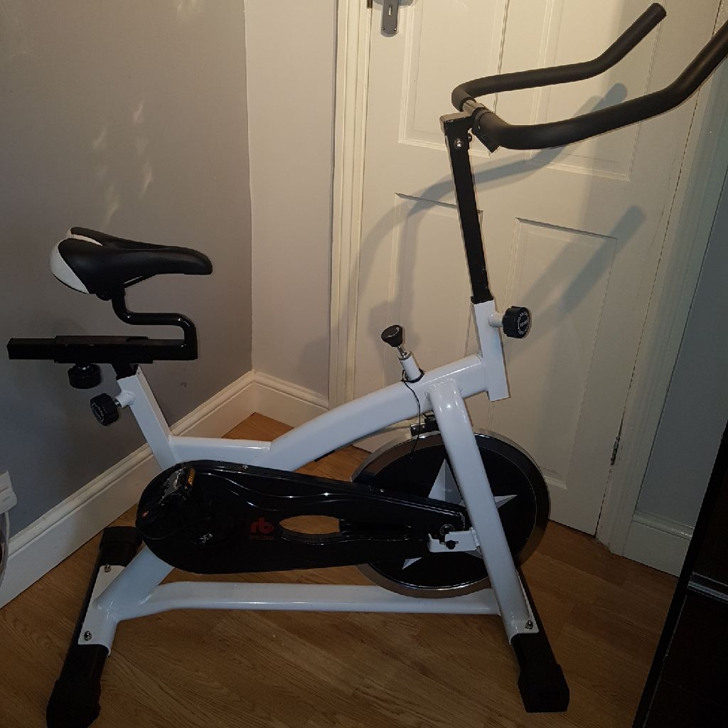 Exercise spin bike home gym