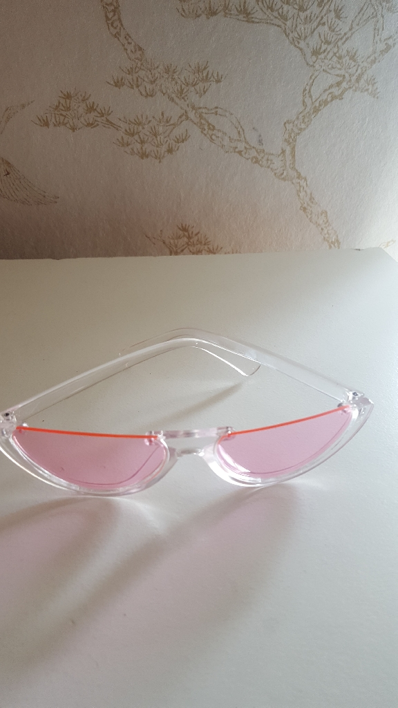 Pink unique Sunglasses
