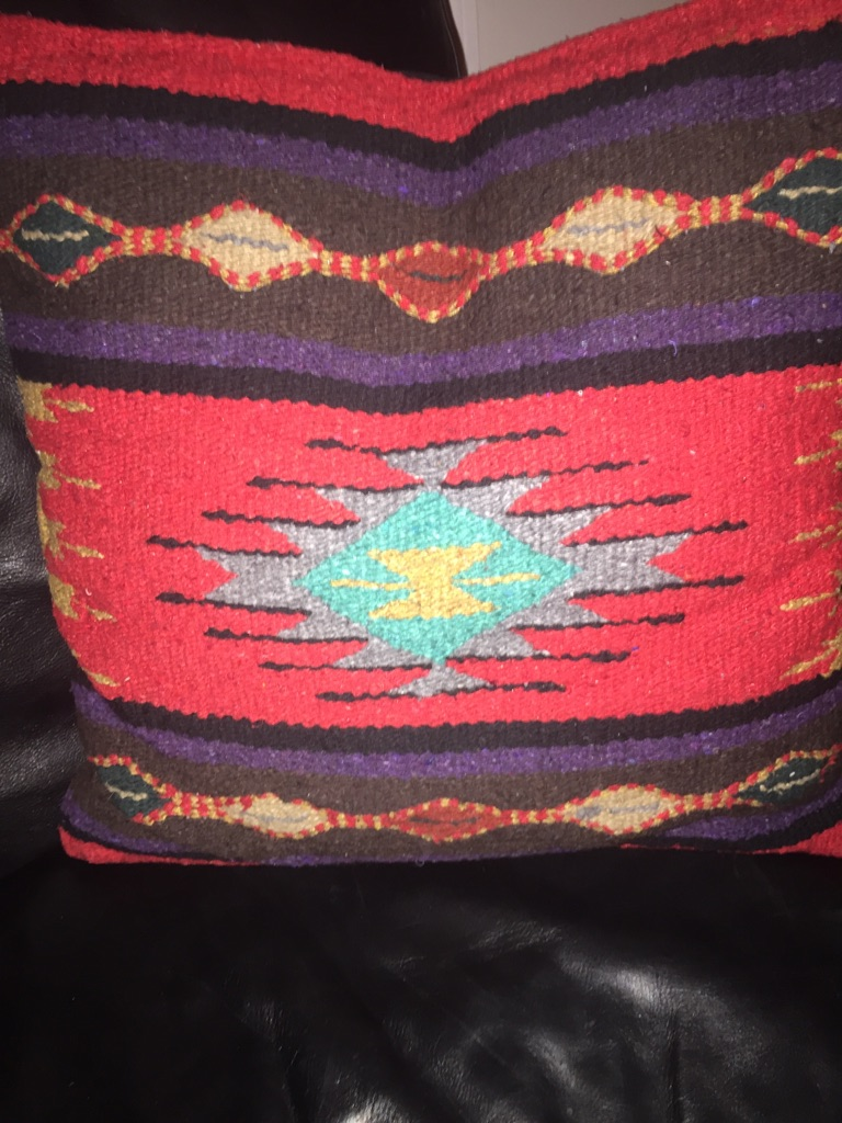 Southwestern themed pillows