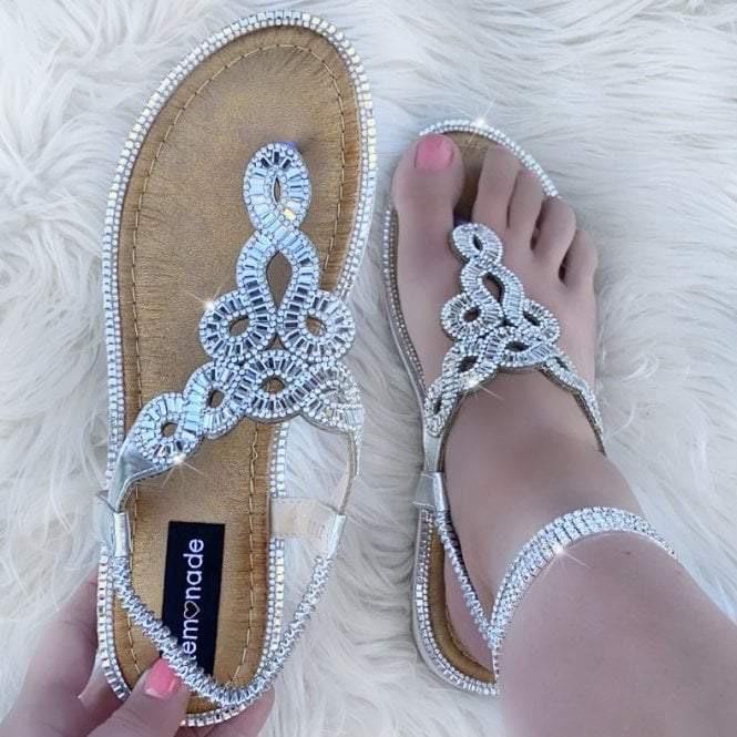 Candy Swirl Sandals
