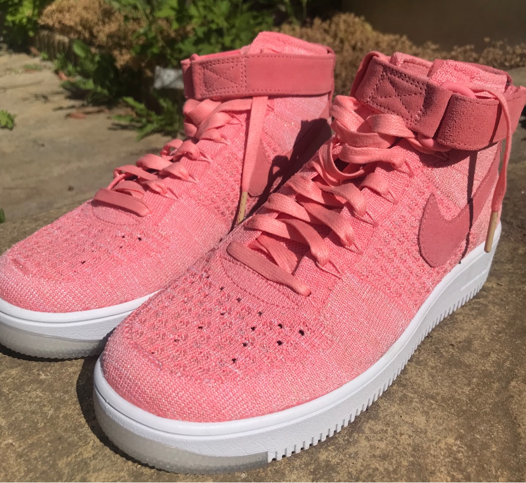Nike airforce flyknits - size 6