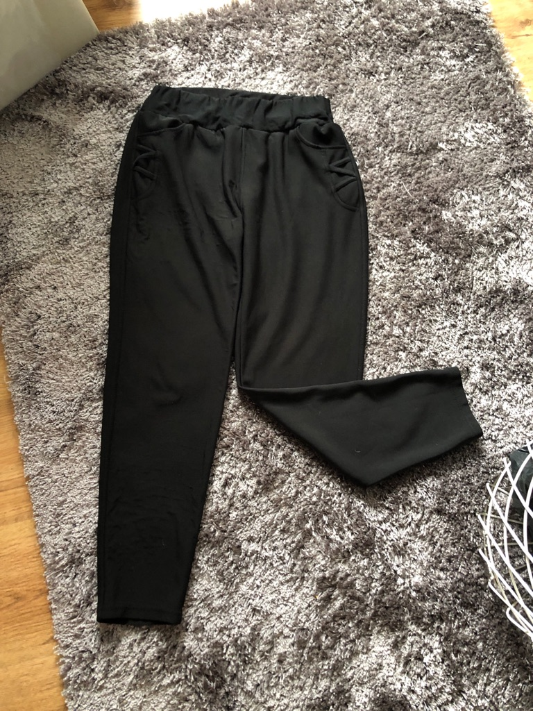 Women's Black casual trousers size 14