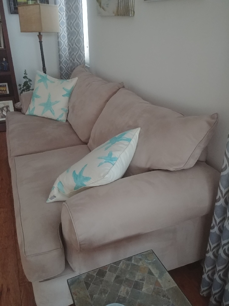 2 Contemporary couches