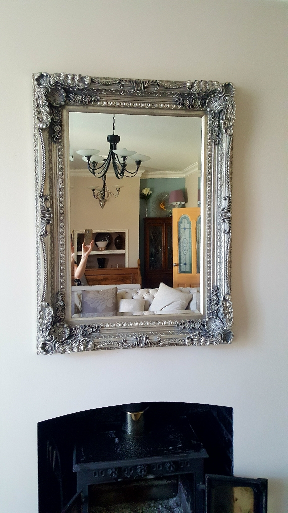Large Ornate mirror