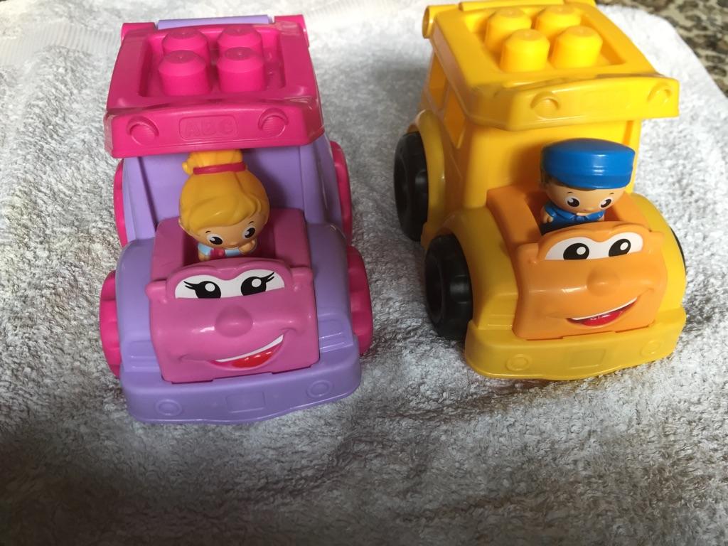 Mega bloks cars