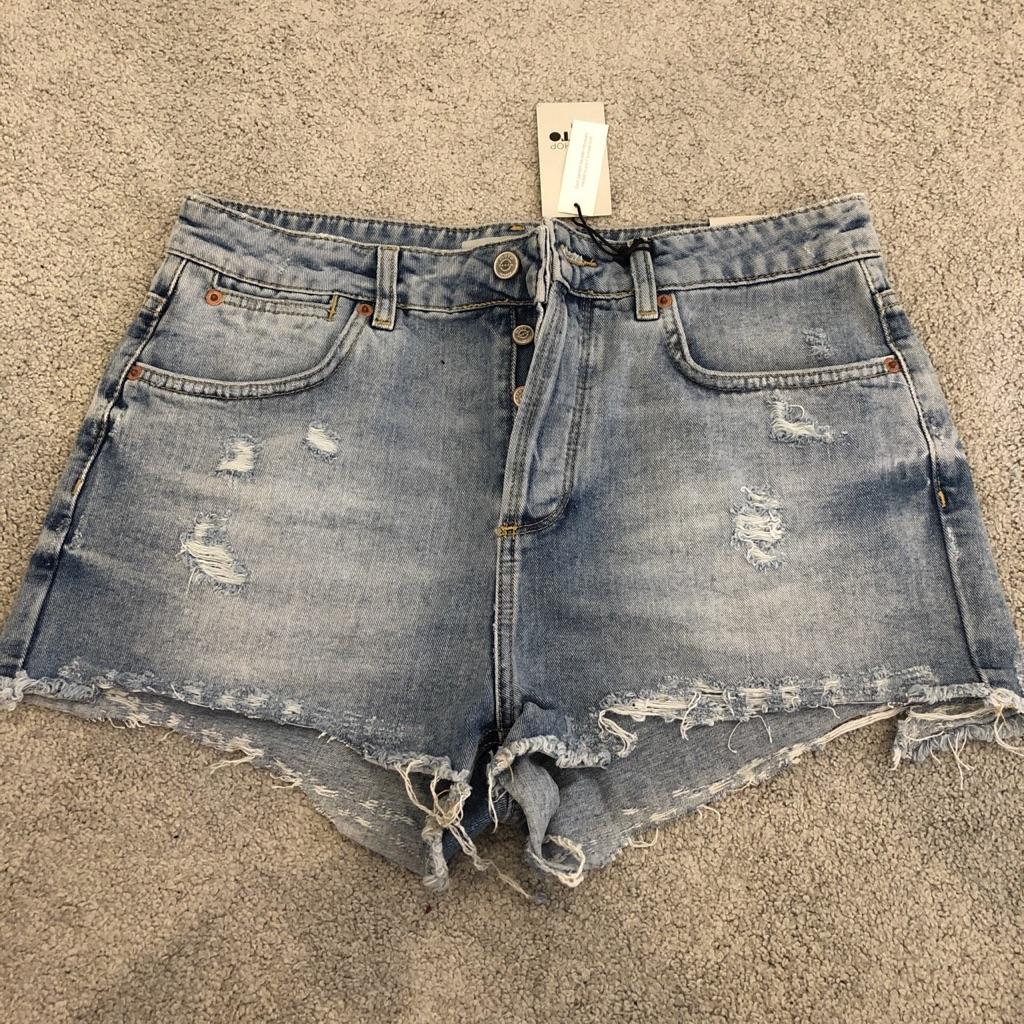 Top shop shorts W32